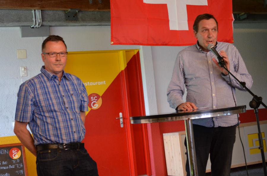 Bruno Spiess und Ralf Ehrbar